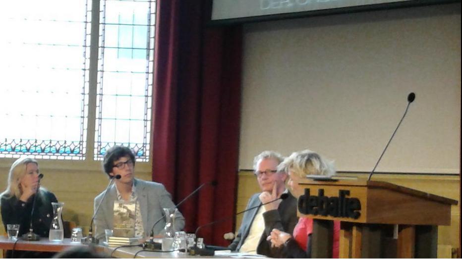v.l.n.r. Désanne van Brederode, Arnout le Clercq, Arjen Fortuin en Isolde Hallensleben