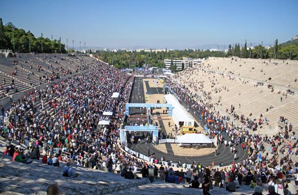 Van Marathon naar Athene