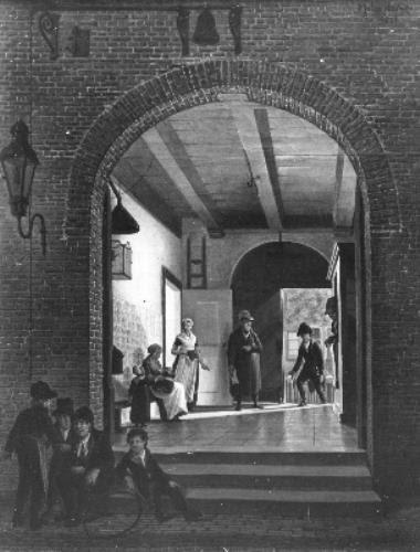 Het vondelingenpaleis van Hendrik Cornelis Serrurier