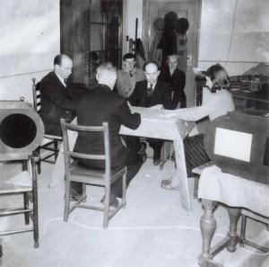 Een parapsychologisch experiment (1951).