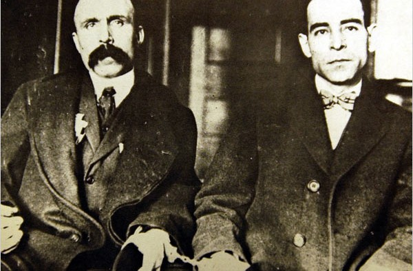 De criminele identiteit van Sacco en Vanzetti