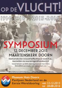 Verslag: tentoonstelling 'Op de Vlucht! 1914-1918 /2015-2016'