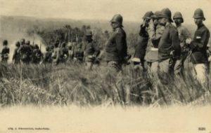 Generaal Van Heutsz tijdens de Atjeh oorlog (KITLV media).