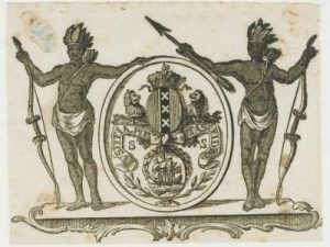 Het wapen van Suriname (KITLV media).