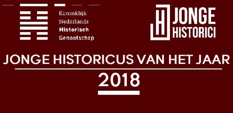 Nominatie Jonge Historicus van het Jaar 2018 geopend!