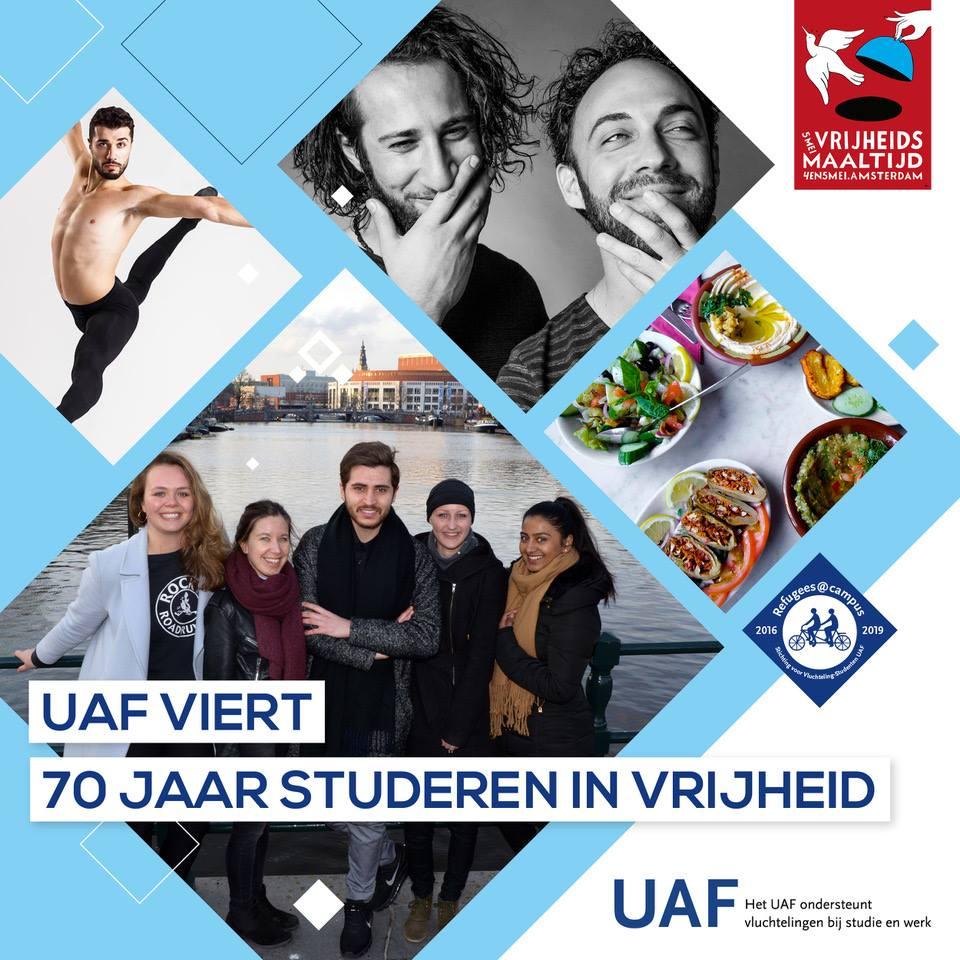 UAF Viert: 70 Jaar Studeren in Vrijheid