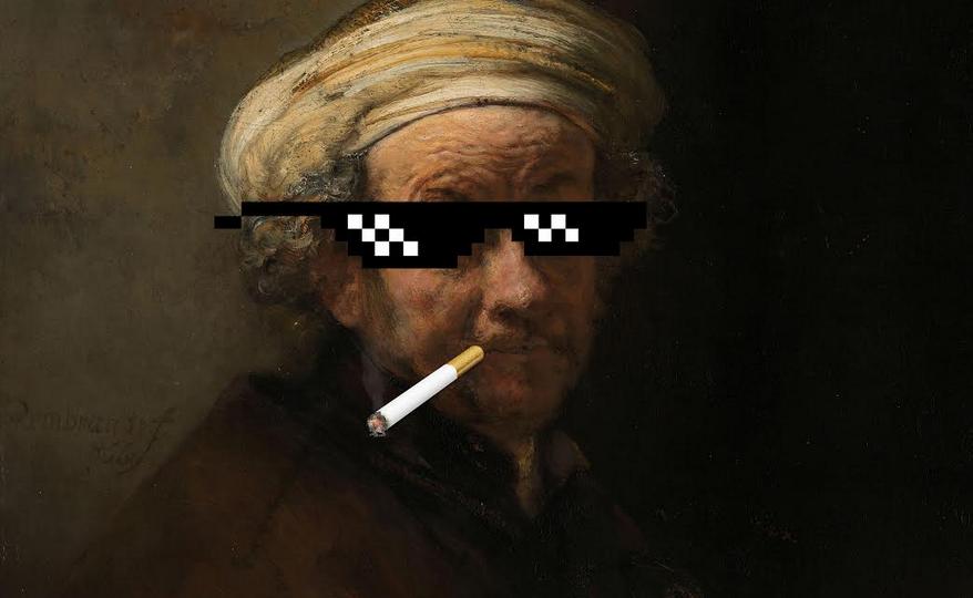 Was Rembrandt een soort Lil' Kleine? – Geschiedenis tussen clickbait en nuance