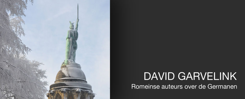 David Garvelink: Romeinse auteurs over de Germanen