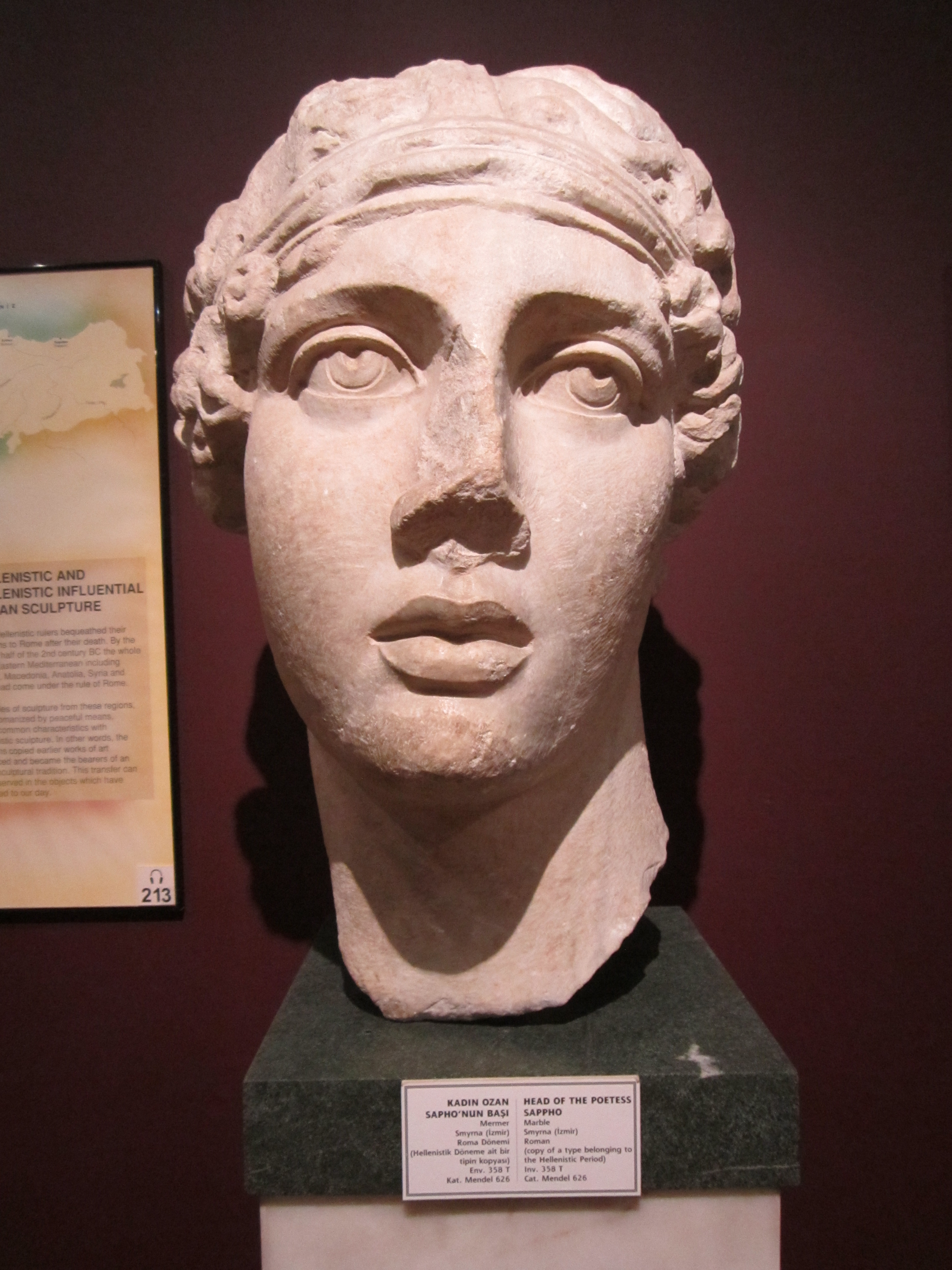 De verschillende gezichten van Sappho