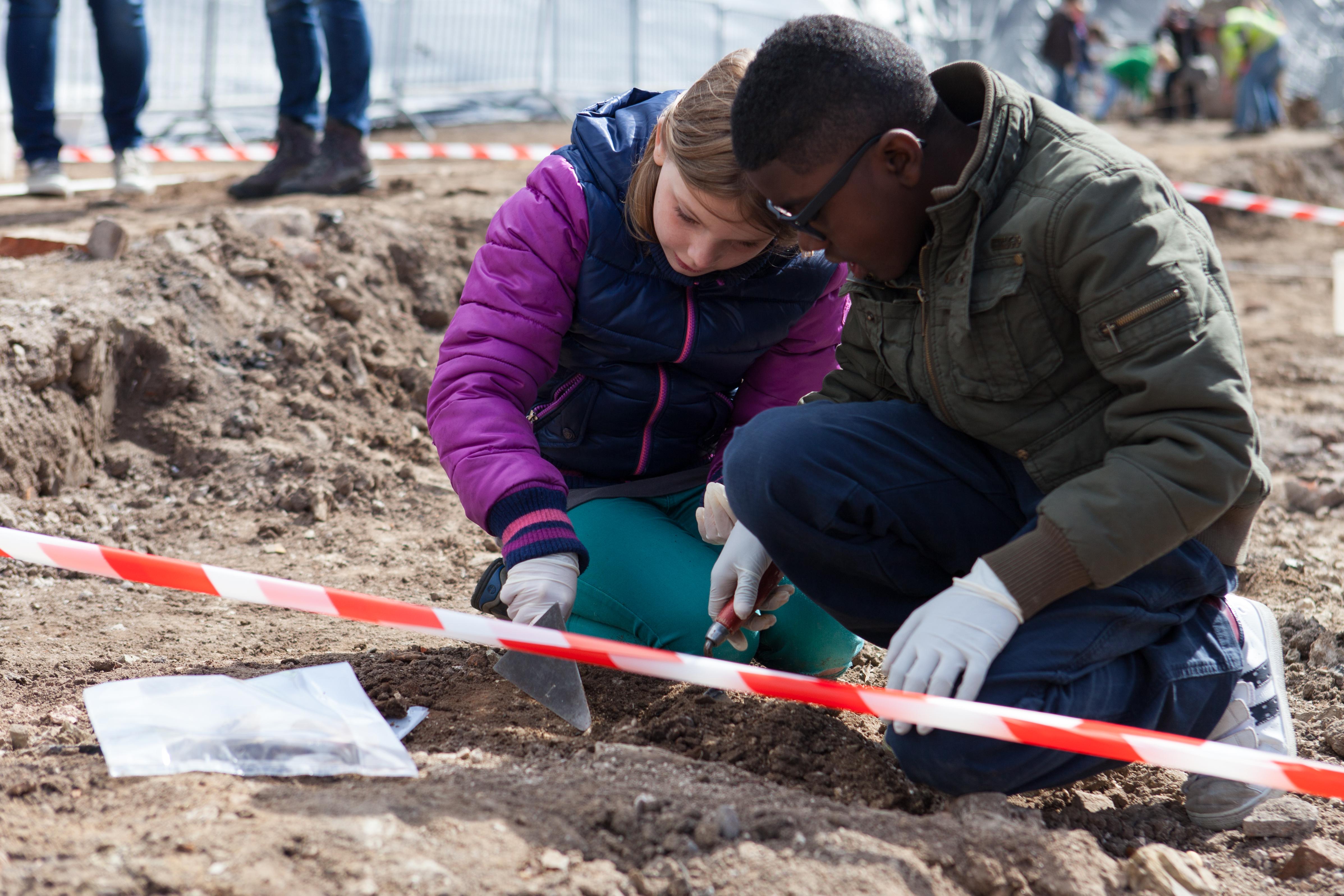 Romeinse opgraving Nijmegen_Foto Jeroen Savelkouls