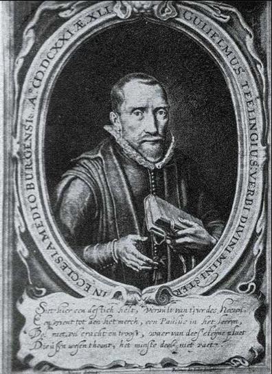 Afbeelding 1: afbeelding van Willem Teellinck ca. 1630. Wikimedia Commons: http://commons.wikimedia.org/wiki/File:Willem_Teellinck.jpg
