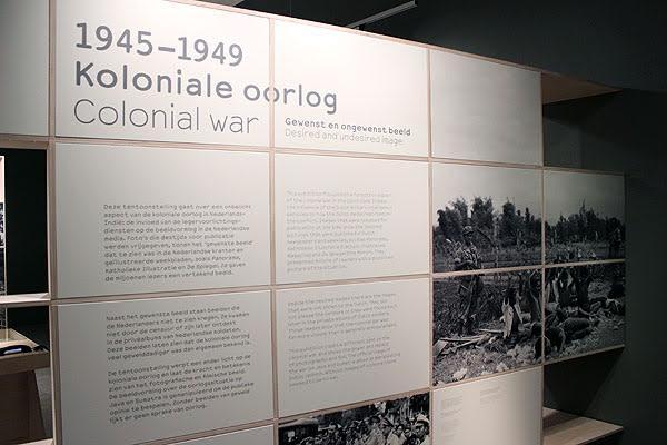 Wisselrecensie: Tentoonstelling Verzetsmuseum – Koloniale oorlog 1945-1950. Gewenst en ongewenst beeld