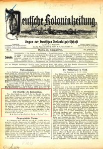 kolonialzeitung