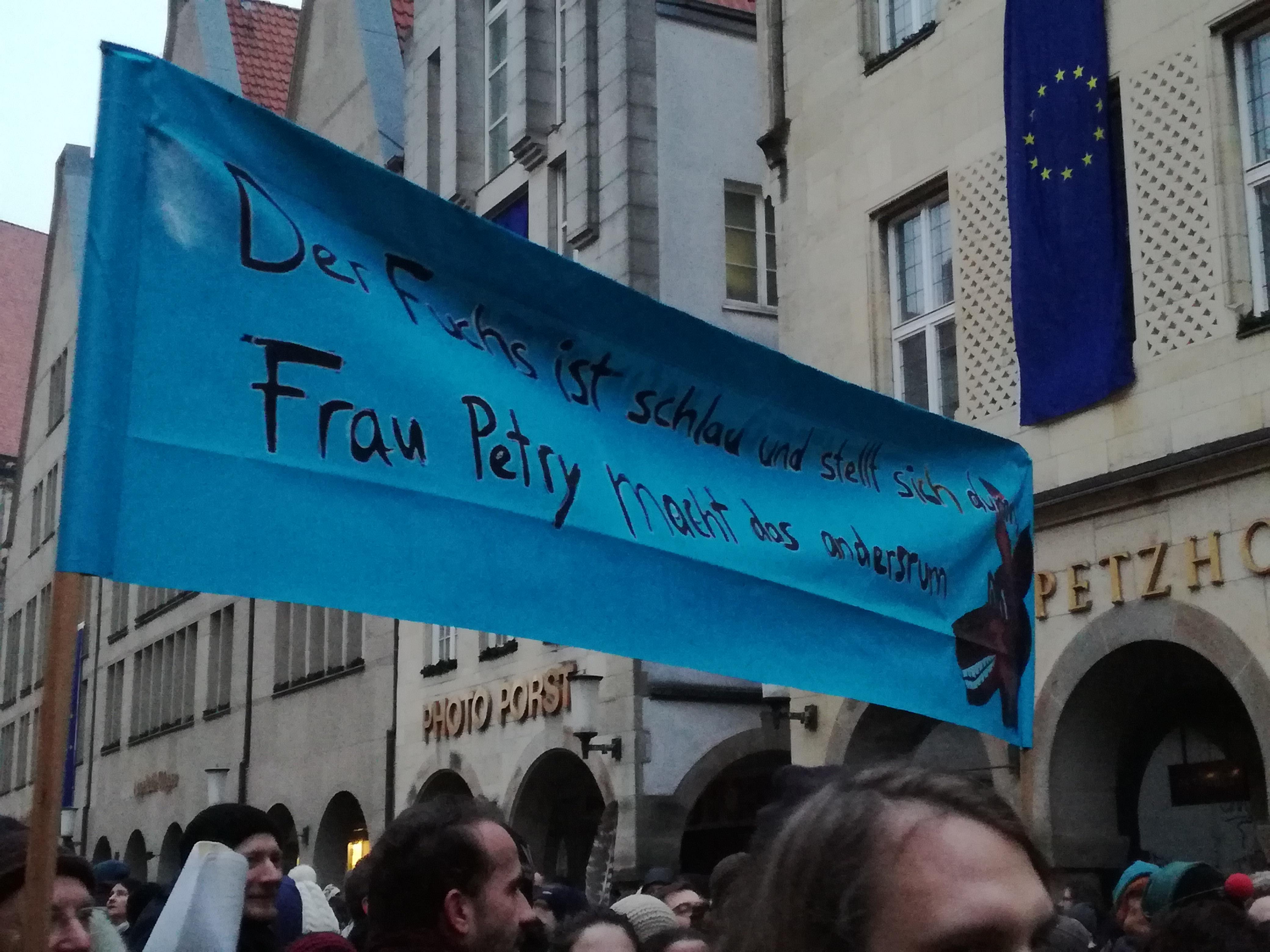 Onze vrouw in Münster: de AfD is niet welkom