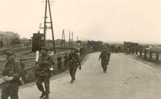 Canadese soldaten in Zwolle