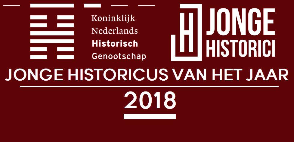 Finalisten Jonge Historicus van het Jaar 2018 bekend