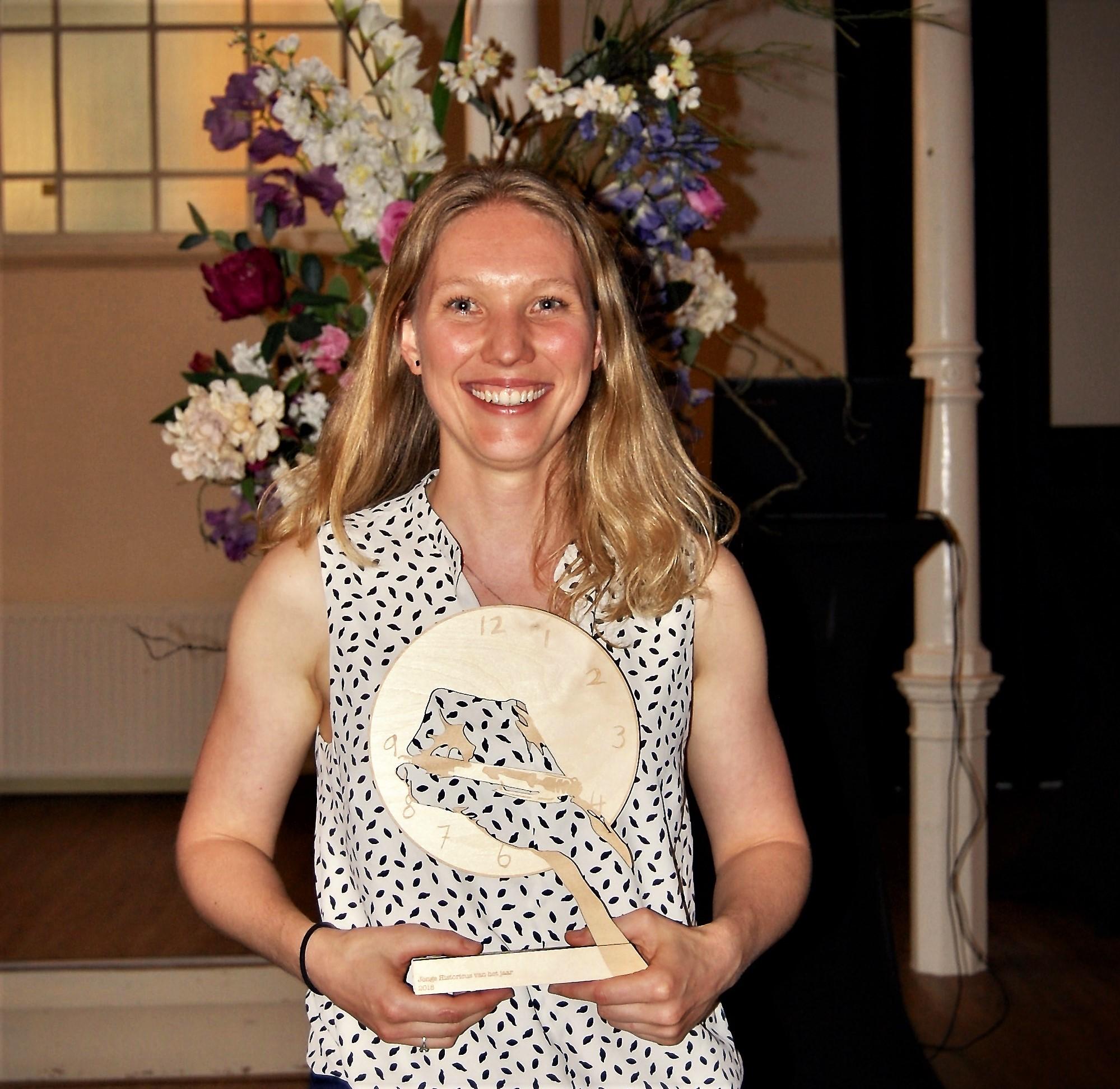 Lise Koning verkozen tot Jonge Historicus van het Jaar 2018!