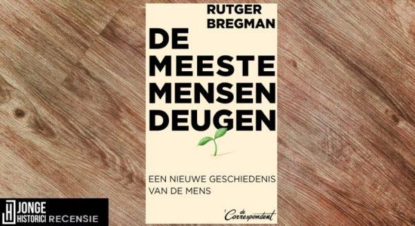 Recensie | Rutger Bregman – De meeste mensen deugen