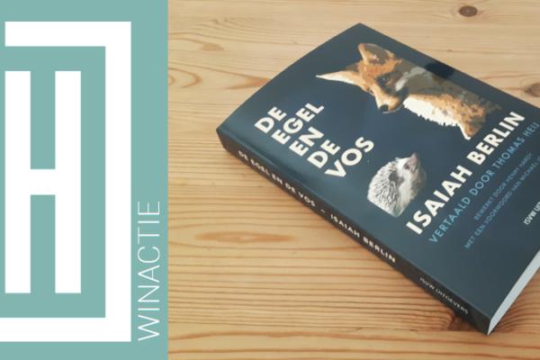 Winactie | Isaiah Berlin – De egel en de vos