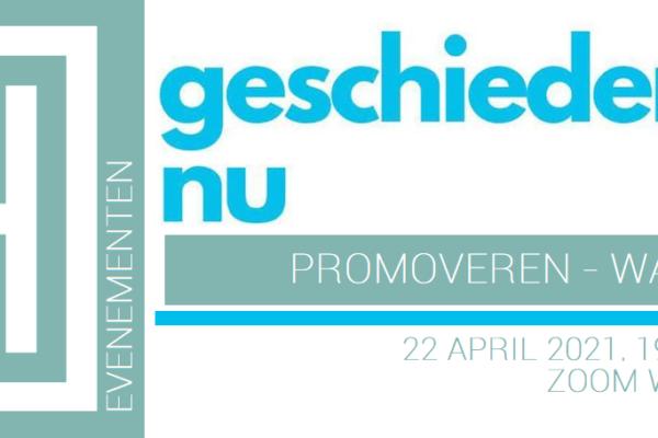 Evenement | Promoveren – Wat nu? (webinar, 22 april)