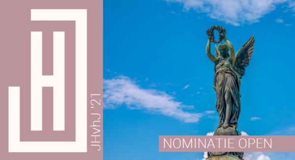 JHvhJ 2021 | Wie nomineer jij als Jonge Historicus van het Jaar 2021?