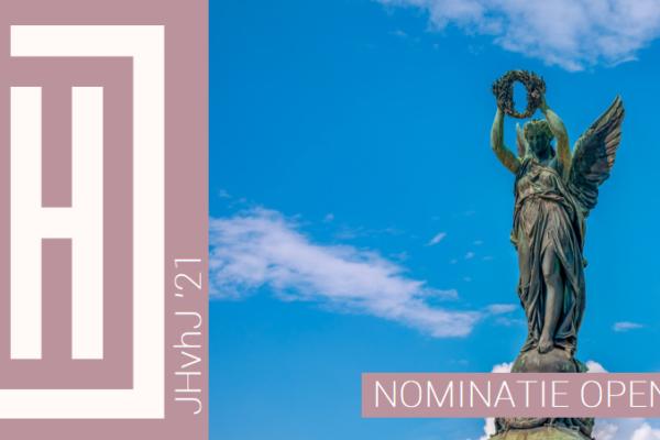 JHvhJ 2021   Wie nomineer jij als Jonge Historicus van het Jaar 2021?